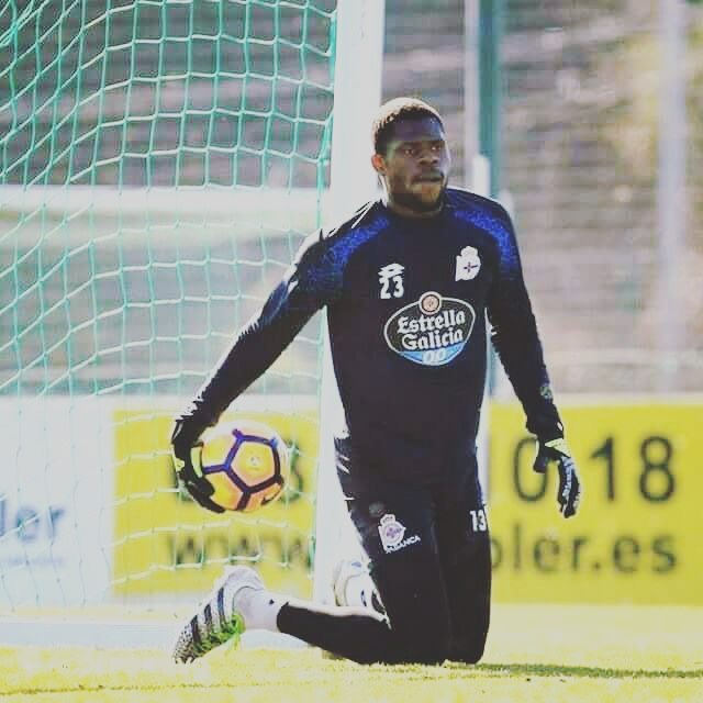 Former Nigeria U-17 Goalkeeper Gets Senior Squad Number At Deportivo La Coruna